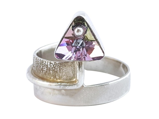 CASCABEL RING SILVER
