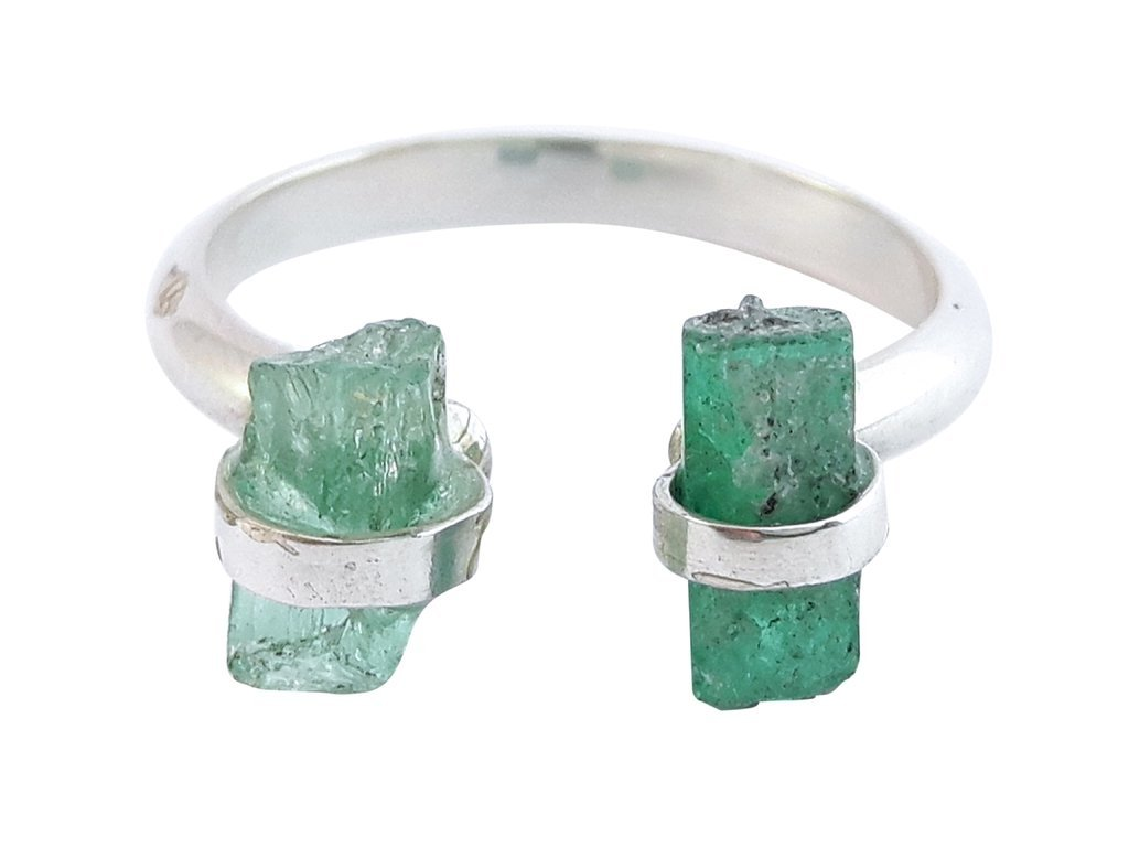 TWIN RING SILVER