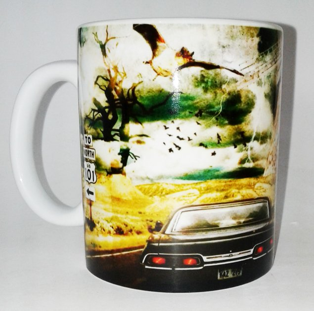 CANECA GEEK - SUPERNATURAL