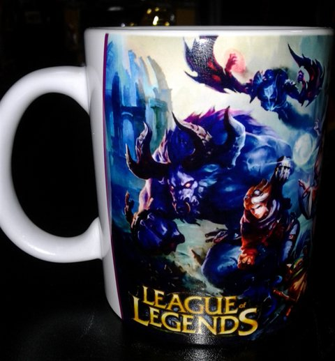 CANECA CERÂMICA - LEAGUE OF LEGENDS - MOD. 4