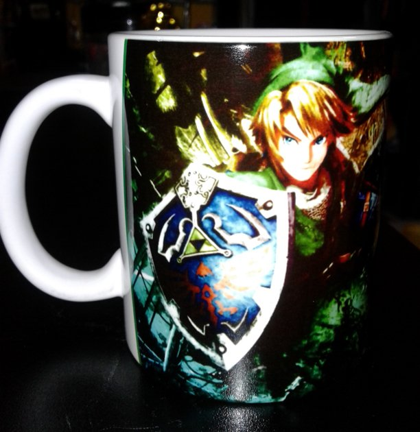 CANECA CERÂMICA - THE LEGEND OF ZELDA