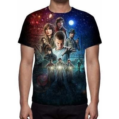 CAMISETA - STRANGER THINGS