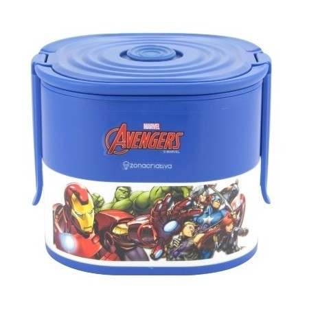 lunch box lancheira avengers marvel