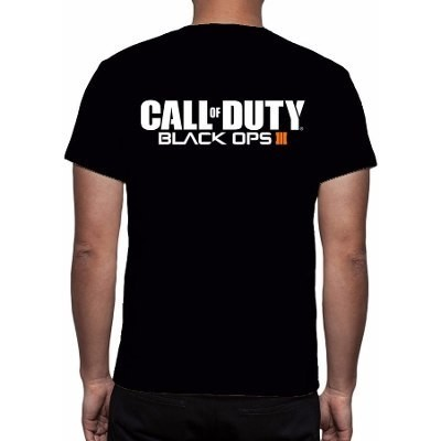 CAMISETA - CALL OF DUTY - BLACK OPS 3 - comprar online