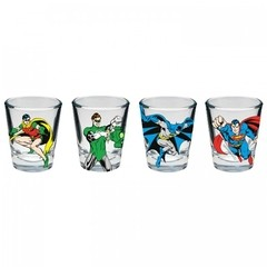 KIT DE COPOS SHOT - THE GOOD BOYS - DC COMICS - comprar online