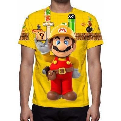 CAMISETA - SUPER MARIO MAKER