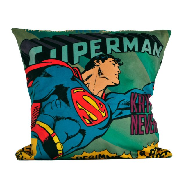 almofada superman dc comics