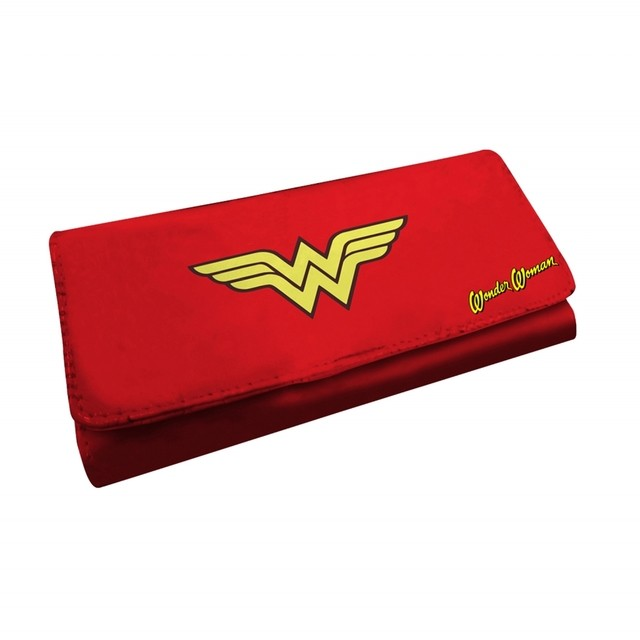CARTEIRA FEMININA - WONDER WOMAN SYMBOL - DC COMICS