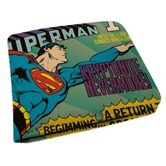 carteira masculina superman dc comics