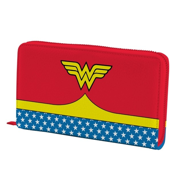 CARTEIRA FEMININA - WONDER WOMAN - DC COMICS