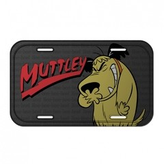 PLACA METÁLICA - MUTTLEY - HANNA BARBERA