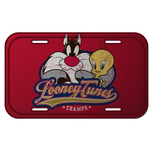 PLACA METÁLICA - SYLVESTER AND TWEETY - LOONEY TUNES