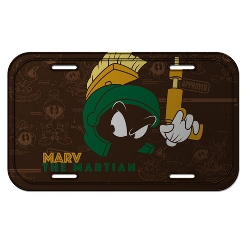 PLACA METÁLICA - MARVIN THE MARTIAN - LOONEY TUNES