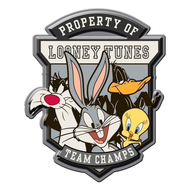 PLACA METÁLICA - TEAM CHAMPS - LOONEY TUNES
