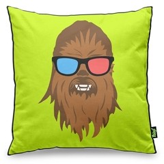 almofada geek side chewbacca