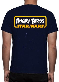 CAMISETA GEEK - ANGRY BIRDS - STAR WARS - comprar online