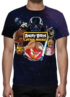 CAMISETA GEEK - ANGRY BIRDS - STAR WARS