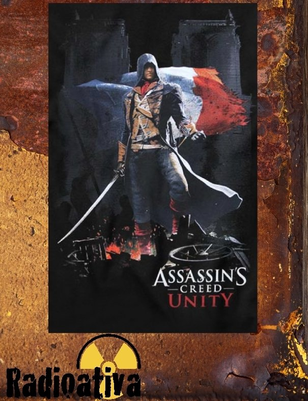 CAMISETA GEEK - ASSASSIN'S CREED - UNITY - comprar online