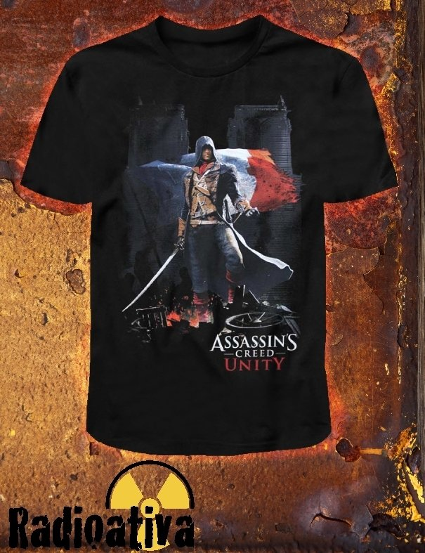 CAMISETA GEEK - ASSASSIN'S CREED - UNITY