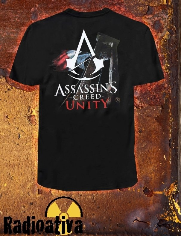 CAMISETA GEEK - ASSASSIN'S CREED - UNITY na internet