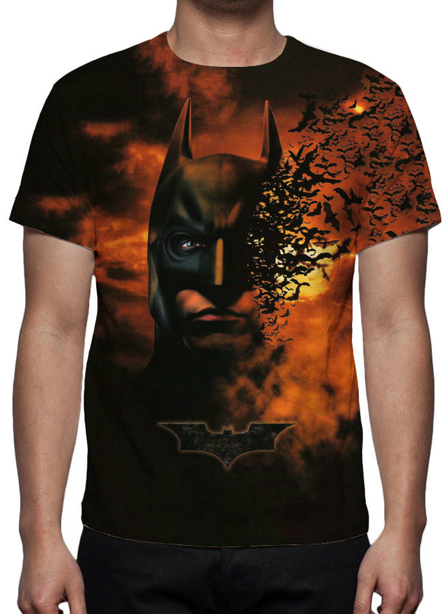 Camiseta Batman - Begins