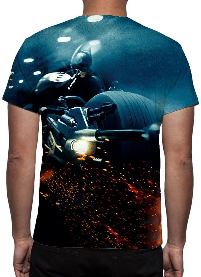 Camiseta Geek e Nerd - Batman The Dark Knight
