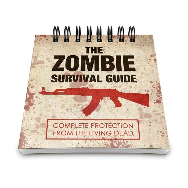 BLOCO DE ANOTAÇÕES - THE ZOMBIE SURVIVAL GUIDE