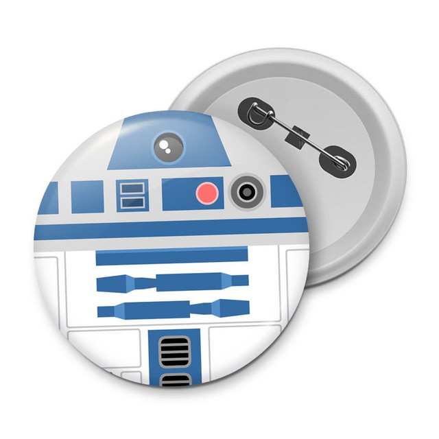 BOTTON - R2-D2 - STAR WARS