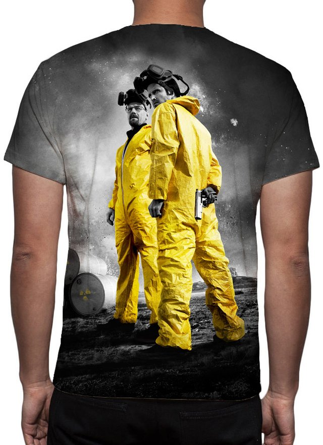 Camiseta Geek e Nerd - Breaking Bad