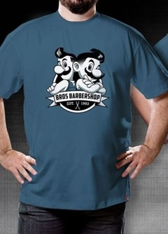 CAMISETA GEEK - BROS BARBERSHOP