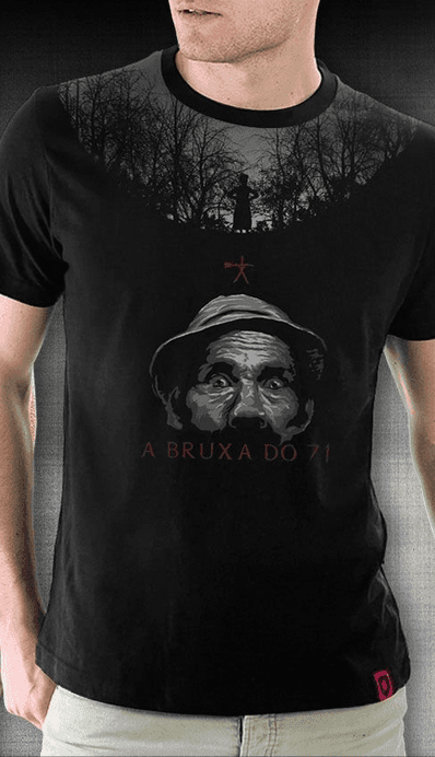 Camiseta A Bruxa do 71 - Geek e Nerd