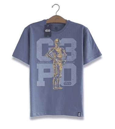 CAMISETA - STAR WARS - C-3PO