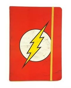 caderno de anotações The Flash dc comics