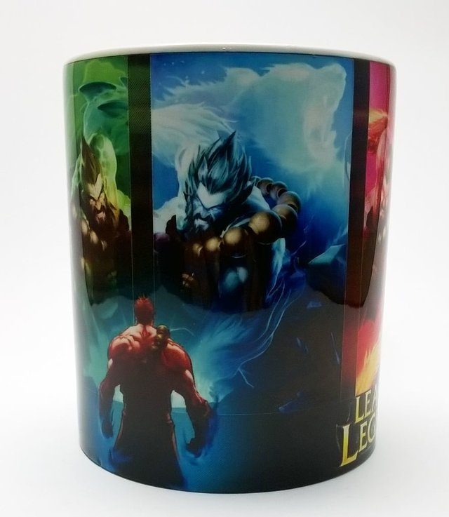 Caneca Geek e Nerd - League of Legends