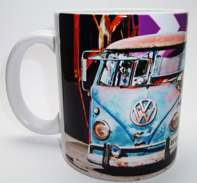 Caneca Cerâmica - VW Kombi Air Cooled Colection