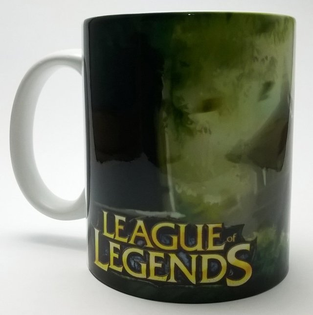 Caneca Cerâmica League of Legends - Geek e Nerd