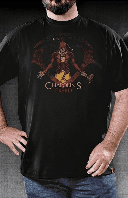 CAMISETA GEEK - CHAPOLIN'S CREED