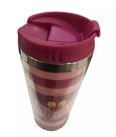 copo termico gato de cheshire alice in wonderland disney