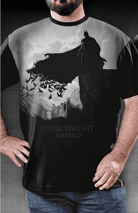 Camiseta Dark Guardian - Geek e Nerd
