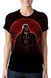 BABY LOOK - STAR WARS - DARTH VADER - ESTRELA DA MORTE