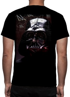 CAMISETA STAR WARS - DARTH VADER - ESTRELA DA MORTE