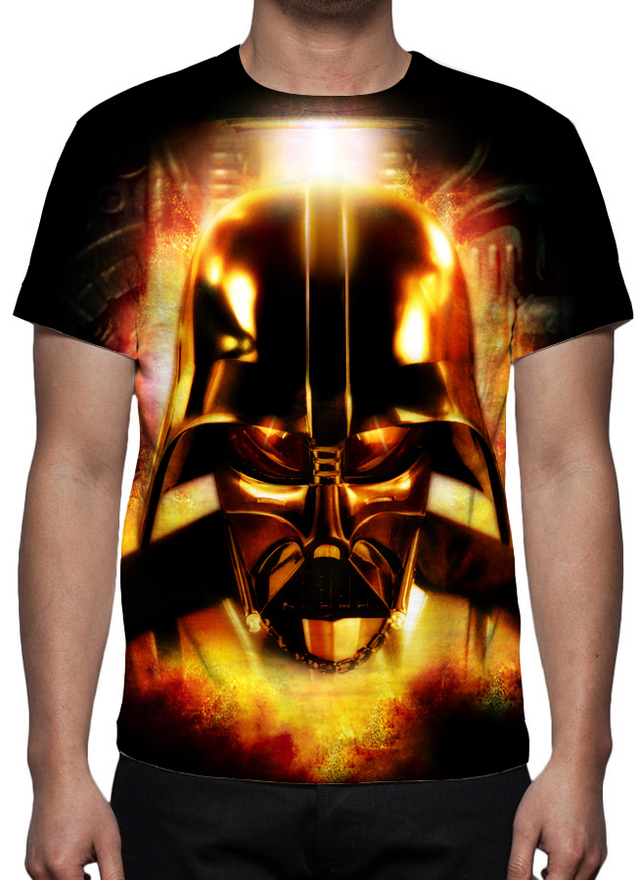 Camiseta Geek e Nerd - Darth Vader - Star Wars