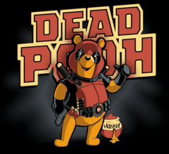 CAMISETA GEEK - DEADPOOH