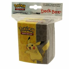 deck box pokémon pikachu ultra pro card game tcg