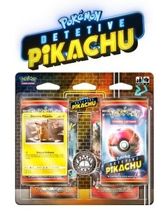card game pokémon detetive pikachu blister quadruplo