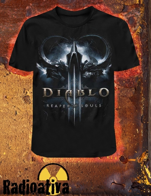 Camiseta Geek e Nerd - Diablo - Reapers of Souls
