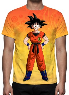 CAMISETA INFANTIL - DRAGON BALL Z - SON GOKU