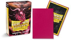card sleeve dragon shield mini matte magenta