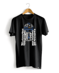 CAMISETA - STAR WARS - DROID WORDS