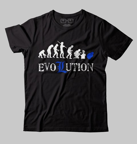 CAMISETA GEEK - EVOLUTION